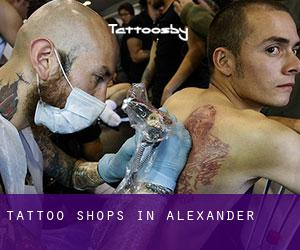Tattoo Shops in Alexander