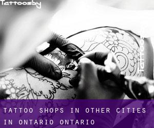 Tattoo Shops in Other Cities in Ontario (Ontario)
