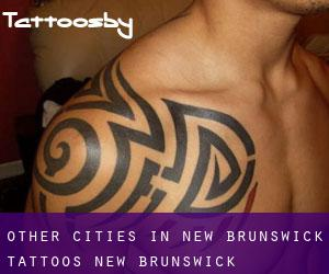 Other cities in New Brunswick tattoos (New Brunswick)