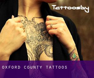 Oxford County tattoos